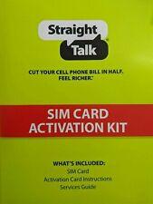 Straight Talk Micro and Nano Sim Card for At&T