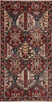 Geometric Oriental Area Rug Wool Hand-Knotted 3 x 6 All-Over Traditional Carpet