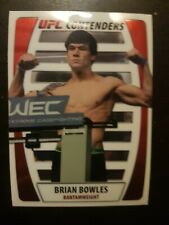 Topps ufc 2011 Title shot Contenders Brian Bowles