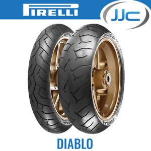 Pirelli Diablo High Performance 190/50 ZR17 73W Motorcycle/Bike Rear Tyre