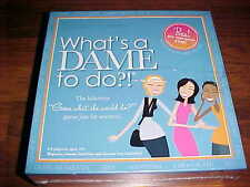 Games For Dames What's a Dame to do Board Game Girl's Night USA 2010 New