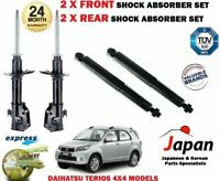 Per Daihatsu Terios 4X4 2005- > 2X Anteriore + 2X Post. SX Ammortizzatore Dx Set
