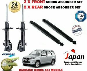 FOR DAIHATSU TERIOS 4X4 2005-> 2X FRONT + 2X REAR LEFT RIGHT SHOCK ABSORBER SET