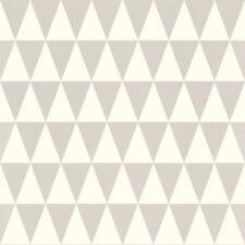 Rasch Textil Tapete 128842 Dreieck Dreiecke graphisch beige Vliestapete Vlies