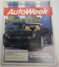 Autoweek Magazine Meet Elise Lotus September 1995 072415R