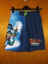 Next Skylanders Swap-Force Board Shorts Trunks Swimwear 13-14yrs Blue Mix BNWT