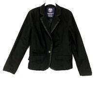 American Eagle Aeo Women Boyfriend Blazer Size Medium Black $85