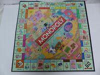 Littlest Pet Shop Monopoly 2008 Replacement Pieces Parts FOLDING GAME BOARD