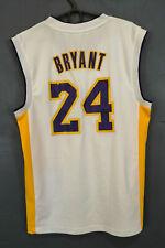 ADIDAS NBA LOS ANGELES LAKERS KOBE BRYANT #24 BASKETBALL SHIRT JERSEY SIZE S