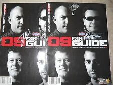 Tony Schumacher Signed NHRA Fan Guides (2) 2009