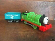 Thomas & Friends Trackmaster Motorized Train Percy Engine & Cargo Car 2013
