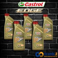 5 Lt Olio Motore CASTROL EDGE TITANIUM FST 0w30 FULL SYNTHETIC SINTETICO