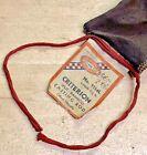 VINTAGE SHAKESPEARE CRITERION 1114L SPLIT BAMBOO CASTING ROD OFFSET HANDLE BAG
