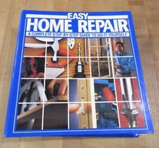 Easy Home Repair Manual  Step by Step Guide to To It Yourself 1993