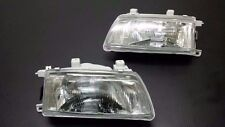 Honda Civic EF SH EF7 4 DR 1990 1991 Head Lamp Light 1 Pair Glass Lens SH4 LH RH