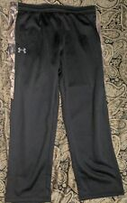 BLACK CAMO Water Resistant Pants Under Armor Size- XXL