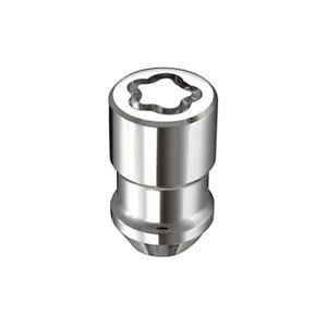 "McGard 24137 4 Lug Nut Lock Set Chrome M12 x 1.5 Pitch 1.46"" Length w/ Key"