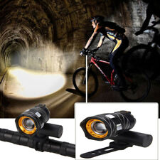 Bicycle Lights Set Mountain Bike Road Front Head Headlight USB LED Rechargeable