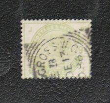 TIMBRES DE GRANDE BRETAGNE : 1883/84 YVERT N° 84 Oblitéré - NINE PENCE VERT