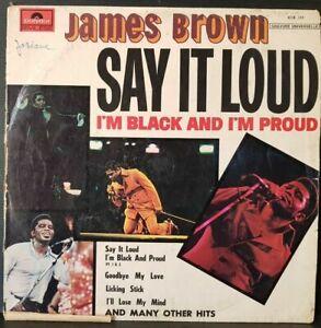 DISQUE 33 TOURS JAMES BROWN SAY IT LOUD
