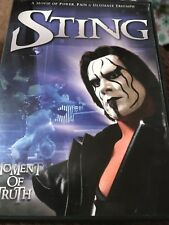 Sting: Moment of Truth (DVD) FAST SHIPPING