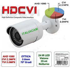 TELECAMERA IBRIDA HD/AHD-CVI-TVI SONY con Menù OSD EFFIO 3000TVL