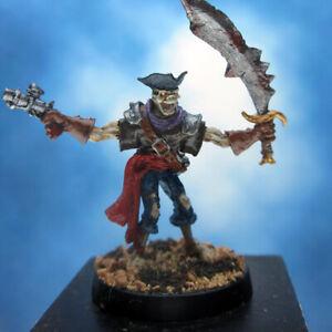 Painted Privateer Press Miniature Warmachine Revenant Pirate
