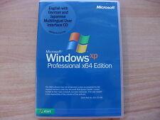 Microsoft Windows XP Professional Pro 64 Bit Vollversion MUI - deutsch englisch