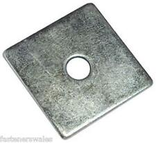 50 Pop blind rivet square steel washers 4.8mm