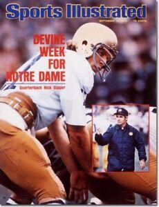 Notre Dame Rick Slager 1975 Sport Illustrated No Label Dan Devine Go Irish- Rudy