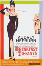 Breakfast at Tiffany's Audrey Hepburn Movie poster print #38