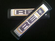 RE Work Carbon Fiber Seat Belt Cover Carbon Fiber Style Cushion Shoulder Pads