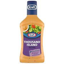 Kraft Thousand Island Dressing, 16 fl oz Bottle ( 4 Bottles )