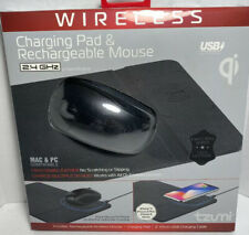 Tzumi Wireless Charging Pad and Rechargeable Mouse Wireless