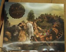 Dinsey 3D motion picture of the Seven Dwarfs Mine Train magic kingdom ride