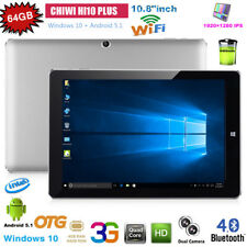 "10.8"" Tablet PC CHUWI Hi10 Plus Windows10 Android 5.1 4GB/64GB 1920*1280 HDMI BT"