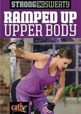 Weight Training DVD - CATHE FRIEDRICH Strong and Sweaty RAMPED UP UPPER BODY!