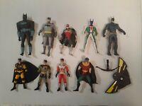 "9 x Mega Lot Batman Animated Series Action Figures Robin Kenner Assorted 5"""