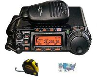 Yaesu FT-857D HF/VHF/UHF 100W Mobile Radio with FREE Radiowavz Antenna Tape!