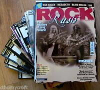 "Classic Rock  Magazine ""CHOOSE YOUR BACK ISSUE - 38  to 71""  Free UK Postage"