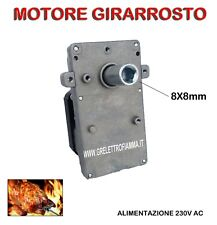 MOTORE MOTORIDUTTORE GIRARROSTO POT 23/28W GRILL  k - BARBECUE-ASSE SPIEDO-FORNO