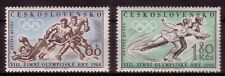 Czechoslovakia1971. Olympic Winter Games, Squaw Valley. Scott # 965-996. MNH, VF