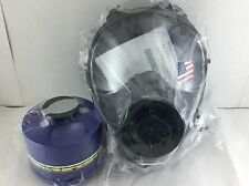 40mm NATO SGE 150 Gas Mask w/Military-Grade NBC Filter - Brand New >>Exp 05/2022