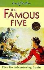 NEW   HARDBACK  (2)  FIVE GO ADVENTURING AGAIN ( FAMOUS FIVE book ) Enid Blyton
