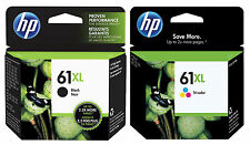 GENUINE NEW HP 61XL  (CH563WN/CH564WN) Ink Cartridge 2-Pack