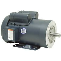 Leeson Electric Motor 120060.00 2 HP 1740 Rpm 1PH 115/230 Volt 145TC Frame