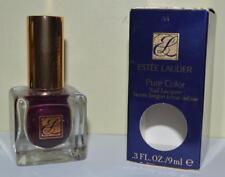 ESTEE LAUDER Plum Cassis #A4 Pure Color Nail Lacquer FULL SIZE ~ BNIB ~ RARE