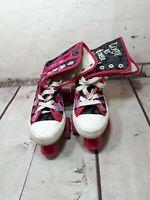 Monster High roller skates boots size UK 1 euro 34