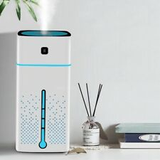 1L USB Air Purifier Oil Diffuser Ultrasonic humidifier Aromatherapy Mist Cleaner