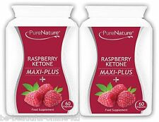 120 Raspberry Ketone Maxi Plus,Acai Berry, African Mango & Green Tea Diet Pills